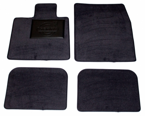 Carpet kit Accessory Volvo 1800S grey in the group Volvo / Volvo 1800 / Interior / Mats/carpets / Accessory mats 1961-73 at VP Autoparts Inc. (281030)