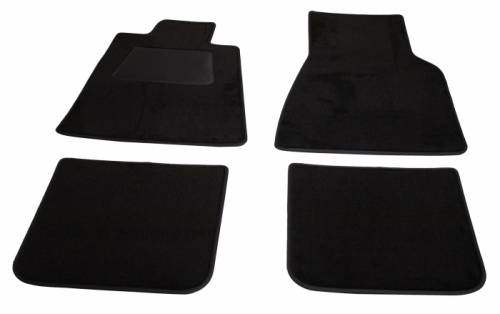 Accessory carpet kit. 140 1967-71. Black in the group Volvo / Volvo 140/Volvo 164 / Interior / Mats/carpets 140 1967-74 at VP Autoparts Inc. (281033)