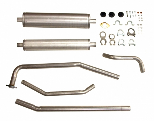 Exhaust system 210 62-66 B18 in the group Volvo / Volvo PV/Duett / Fuel/Exhaust system / Exhaust system / Exhaust system Duett B16 1962-66 at VP Autoparts Inc. (290060)