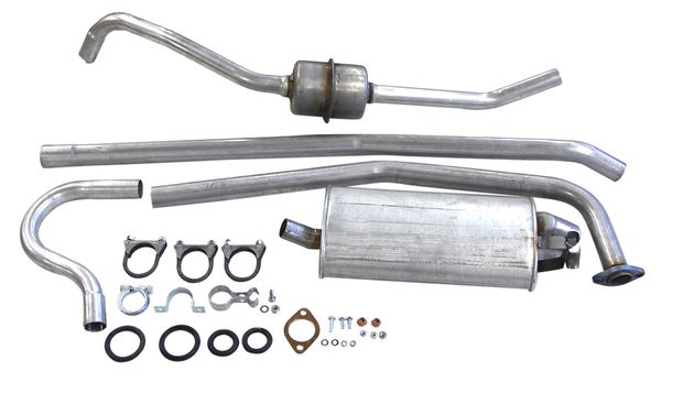 Exhaust system 122 Wagon 62-66 B18 in the group Volvo / Volvo Amazon/122 / Fuel/Exhaust system / Exhaust system / Exhaust system 122 Wagon B18 1962-66 at VP Autoparts Inc. (291140)