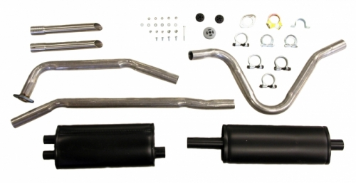 Exhaust system 1800 61-65 single pipe in the group Volvo / Volvo 1800 / Fuel/Exhaust system / Exhaust system / Exhaust system 1800 1961-65 at VP Autoparts Inc. (292210)