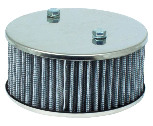 Air filter SU HIF Hi-Po.w/o vent,S-steel in the group Volvo / Volvo 140/Volvo 164 / Fuel/Exhaust system / Carburetor / Carburetor B20B/D SUHIF 1971- at VP Autoparts Inc. (462853HP-RSS)