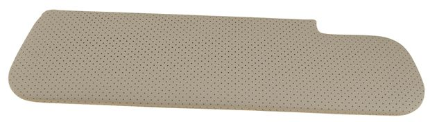 Sun visor P1800 -1962 RH perforated in the group Volvo / Volvo 1800 / Interior / Upholstery 1800S / Sun visor at VP Autoparts AB (664612)